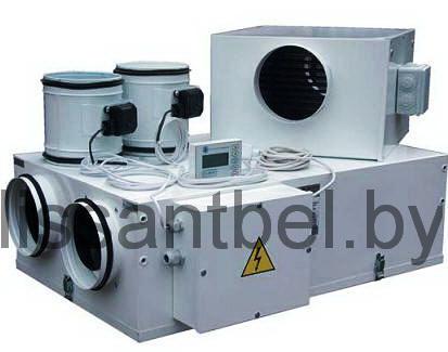 Компактная приточная установкас электрокалорифером